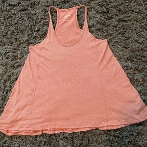 Coral and Cream Tank